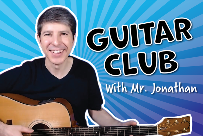 Kids Guitar club for kids