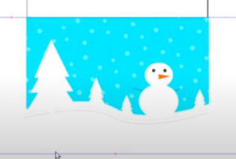 Learn inkscape by making a winter holiday card for kids