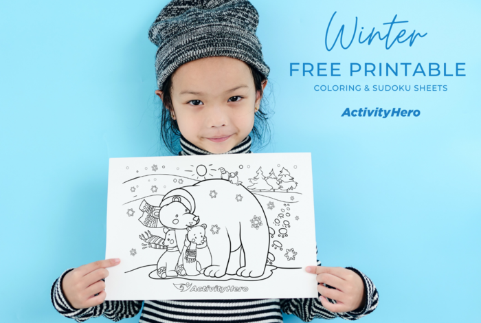 On-demand printables for holiday break and kids sudoku sheets for free