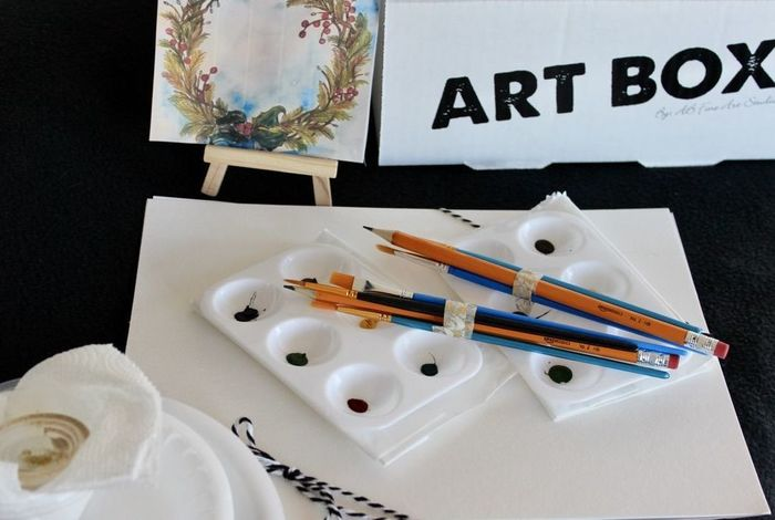 On-Demand Art Class for Holiday break
